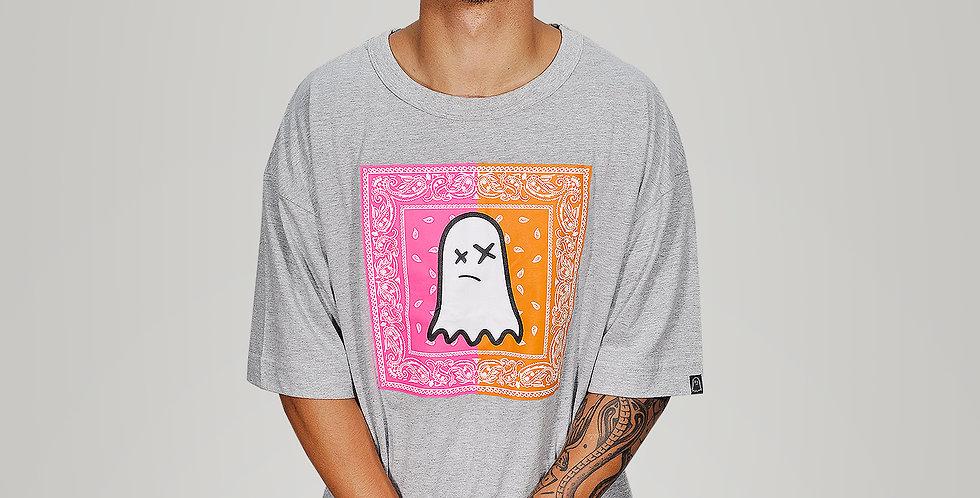 Camiseta Ghost Bandana Pink Orange