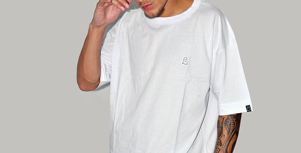 Camiseta Basic Ghost White