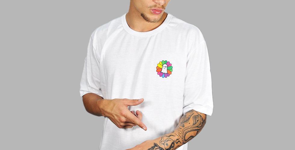 Camiseta Ghost Takashi White