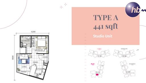 Type A 441 Sqft