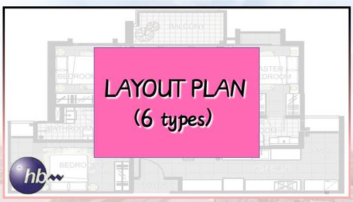 Layout Plan (6 Types)