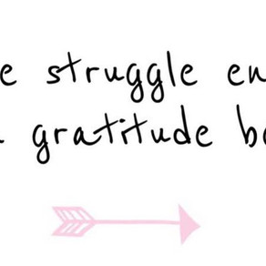 Finding Gratitude in an Odd Place