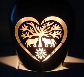 Herz dunkel