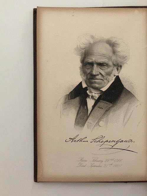 Rare Schopenhauer Biography by Helen Zimmern
