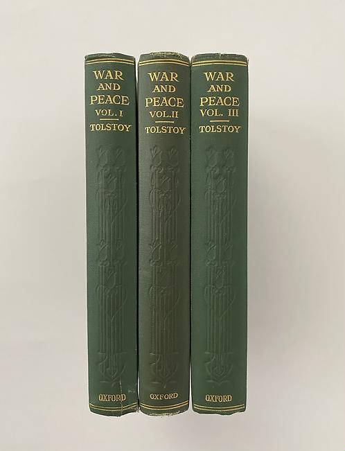 War and Peace - Tolstoy, the landmark English translation