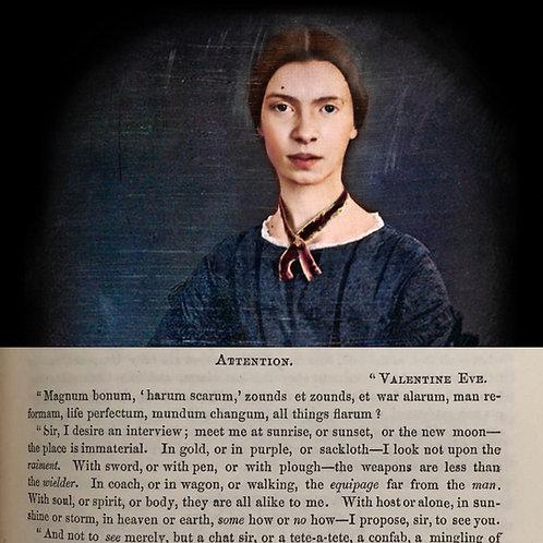 A genesis of American greatness - Emily Dickinson