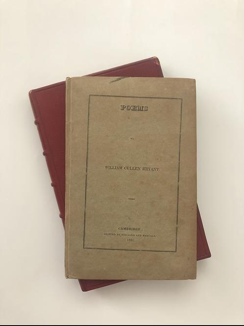 Poems, William Cullen Bryant - a beautiful copy