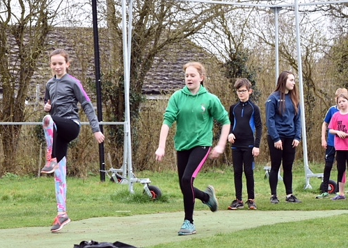 Juniors at Harling Athletics Club