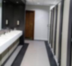Beleuchtung für Toiletten und Waschräume
