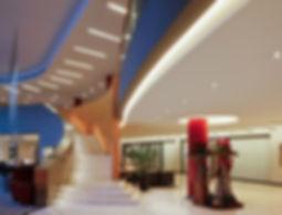 Hoteleriebeluchtung, Down Lights, Verkaufsbeleuchtung, Shopbeleuhtung, Downlights, Deckenleuchten, LED, Gewerblichebeleuchtung, effizient, Effizienz, Einbauleuchten