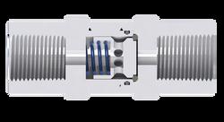 Válvulas tipo piston