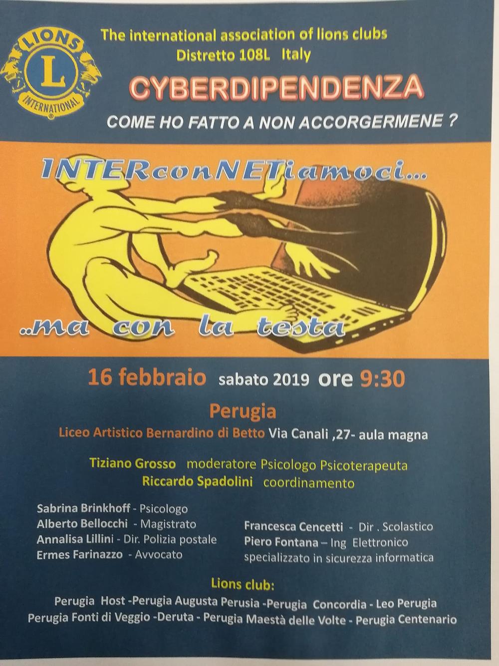 Cyberdipendenza - locandina