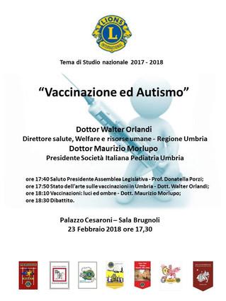 Vaccini ed autismo, tema di studio