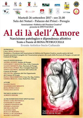 """Evento artistico socio-culturale """"Al di là dell'amore"""""""