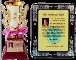 international culture service prize