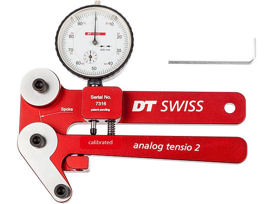 DT Swiss Tensiomètre pour Rayons DT Tensio 2