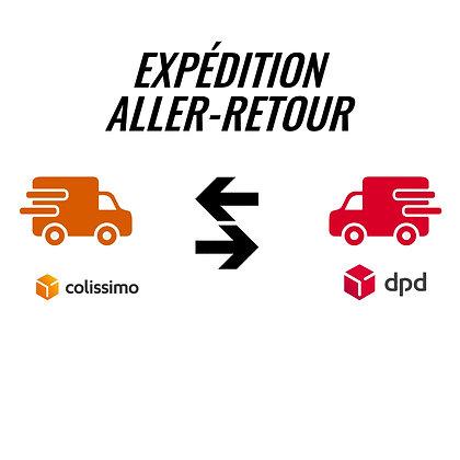 """Expédition """"Aller-Retour"""" de vos roues pour service après-vente"""
