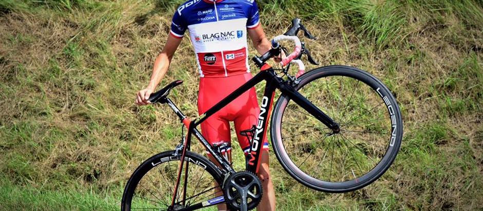 Le champion de France roule en Legend-Wheels