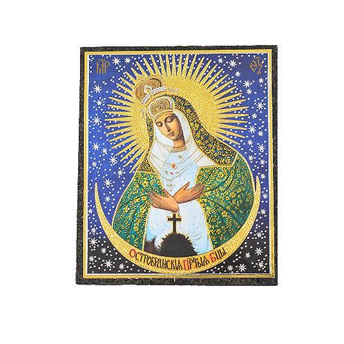 "3"" Virgin of Ostrobramovskaya"