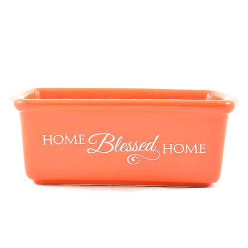 Blessed Home Mini Loaf Stoneware