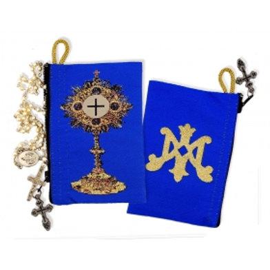Blessed Sacrament Monstrance & Marian Symbol