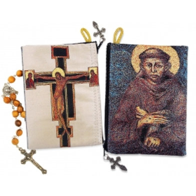 St. Francis & San Damiano Crucifix Pouch