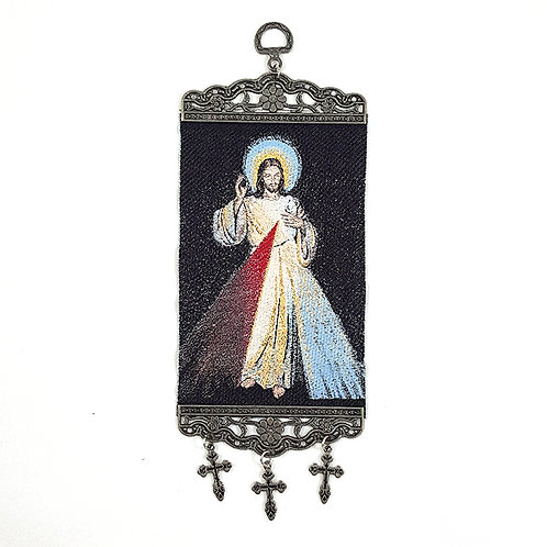 Hanging Religious Tapestry Icons