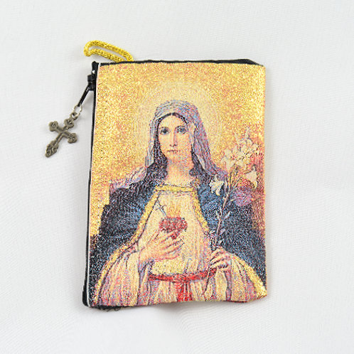 Sacred Heart & Immaculate Heart Pouch