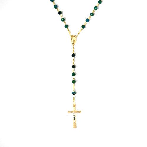 Chrysocolla Gemstone Rosary