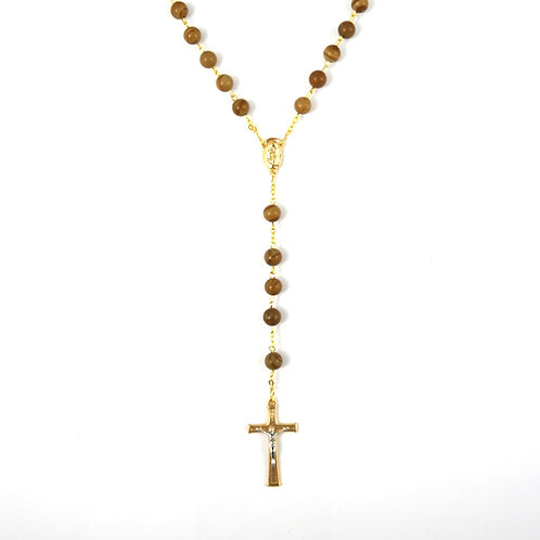 Natural Jasper Gemstone Rosary