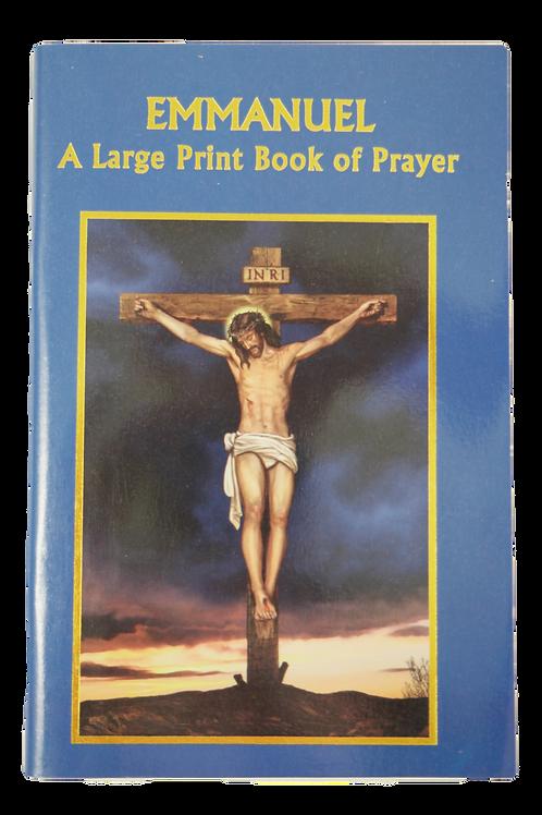 Emmanuel A Large Print Book of Prayers