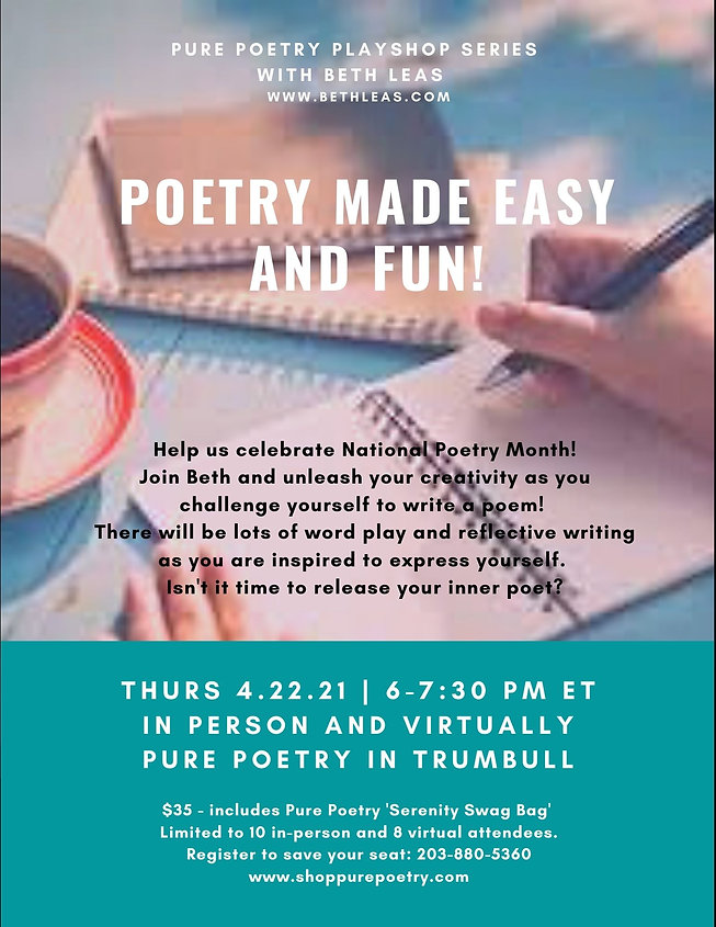 Poetry Made Easy and FUN! Pure Poetry Fl