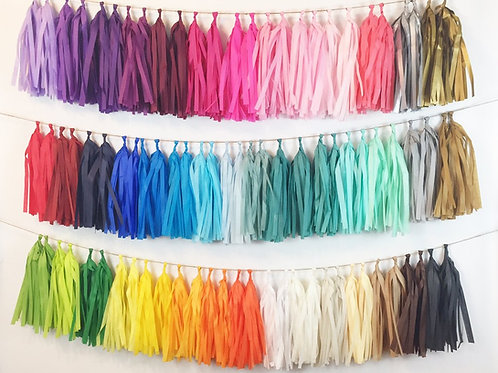 Choose Your Own Tassel Garland Colors
