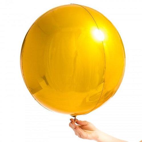 Gold Orbz Balloon