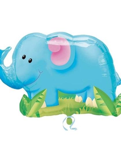 """33"""" Elephant Foil Balloon"""