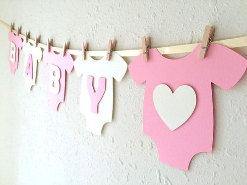 Baby Girl's Clothes Bunting