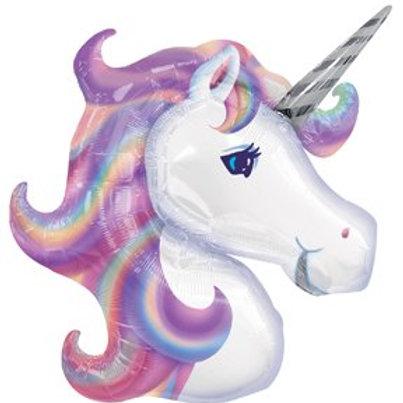 "33"" Pastel Unicorn Foil Balloon"