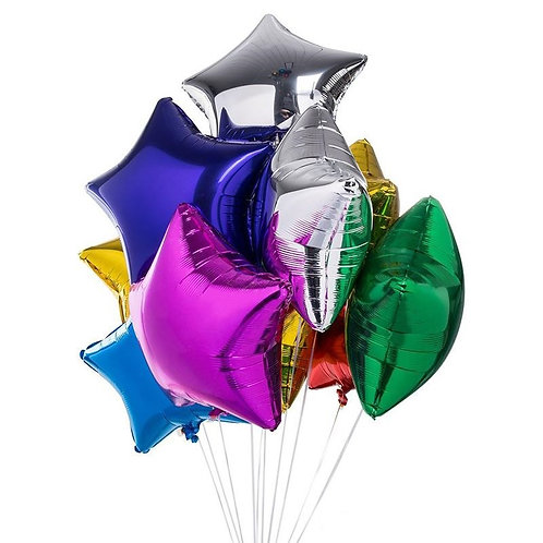 "18"" Star Foil Balloons (14 Colours Available)"