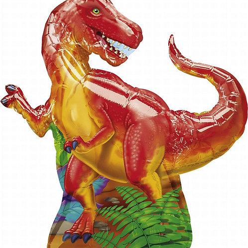"31"" Tyrannosaurus Rex (T-Rex) Party Foil Balloon"
