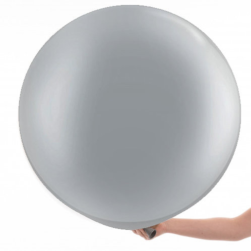3ft Metallic Silver Giant Balloon