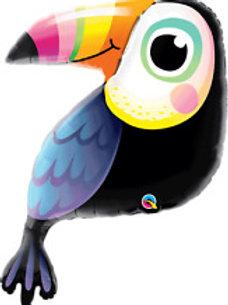 """41"""" Colourful Toucan Foil Balloon"""