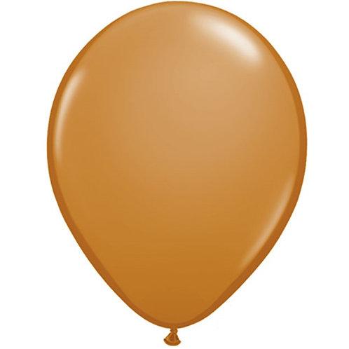 "12"" Standard Latex Balloon - Mocha Brown"