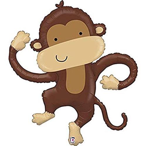 "40"" Linky Monkey Buddy Foil Balloon"