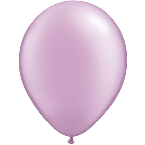 "12"" Metallic Pearl Latex Balloon - Lavender"
