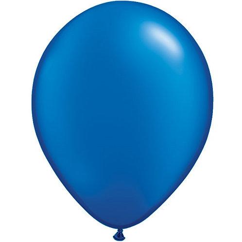 """12"""" Metallic Pearl Latex Balloon - Sapphire Blu"""