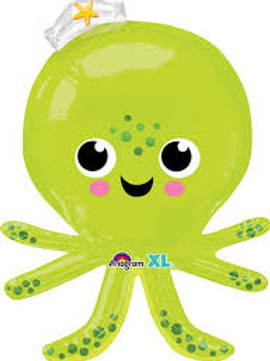 "34"" Silly Octopus Foil Balloon"