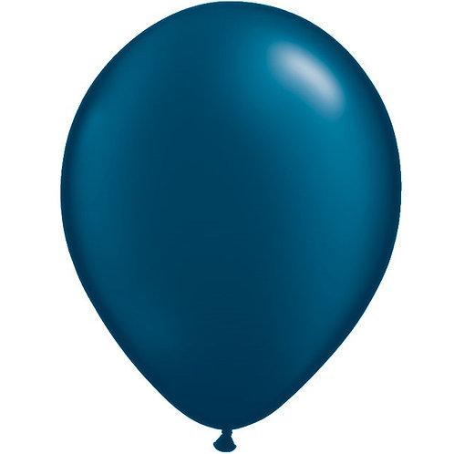 """12"""" Metallic Pearl Latex Balloon - Midnight  Blue"""