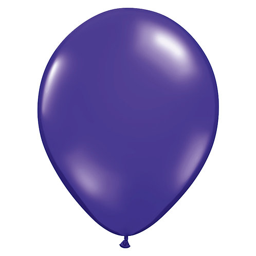 "12"" Jewel Crystal Latex Balloon - Purple"