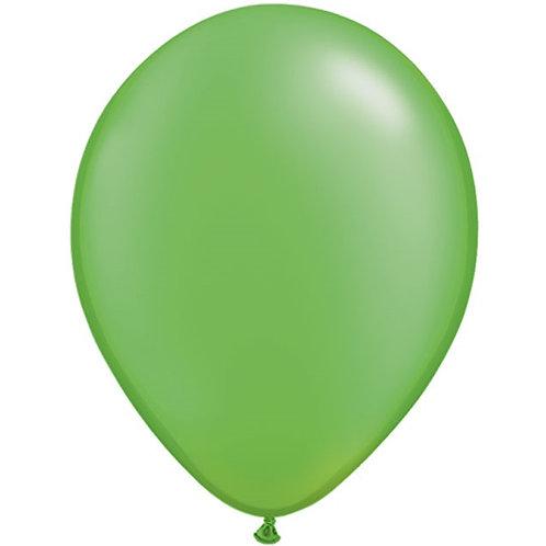 """12"""" Metallic Pearl Latex Balloon - Lime Green"""