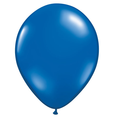 "12"" Jewel Crystal Latex Balloon - Sapphire Blue"